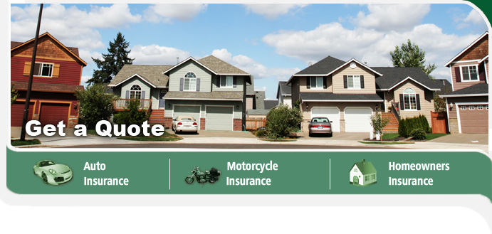 Auto, Motorcycle, Home, Renters Insurance